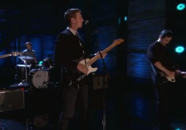 The Walkmen on Conan