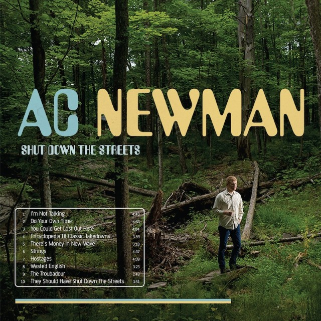 AC Newman - Shut Down The Streets
