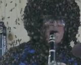 Playing A Clarinet, Covered In Bees