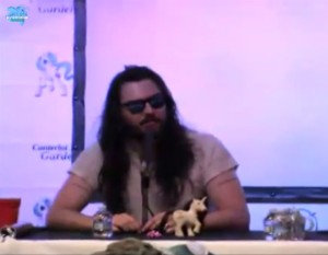 Andrew W.K. at My Little Pony convention