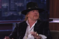 Axl Rose on Kimmel