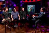 Watch Ben Folds Five On <em>Colbert</em>