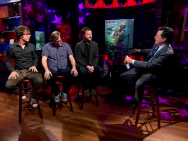 Ben Folds Five on Colbert