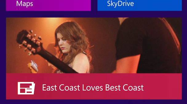 Watch Best Coast's Commercial For Microsoft Windows 8