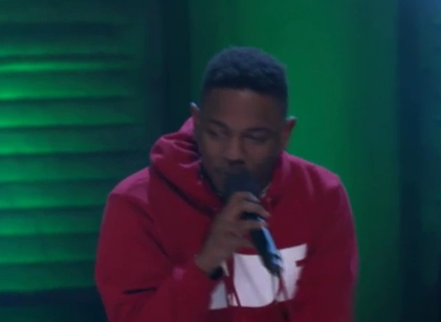 Kendrick Lamar on Conan