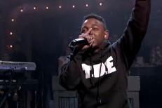 Kendrick Lamar on Fallon