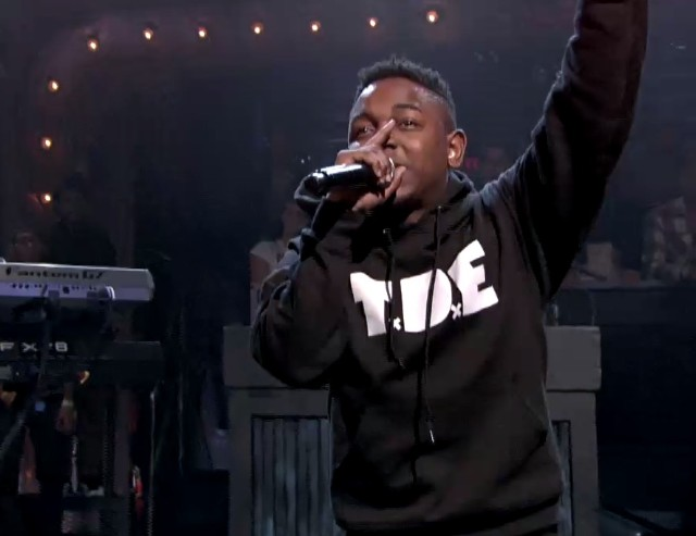Kendrick Lamar on Fallon
