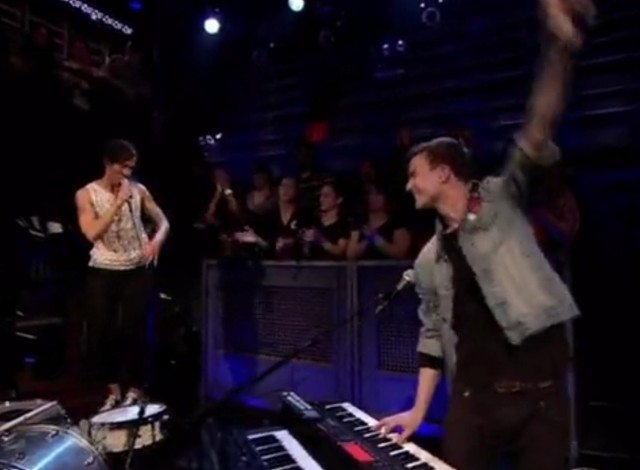 Matt And Kim on Fallon