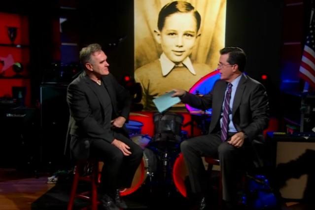 Morrissey on Colbert