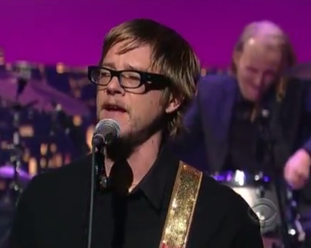 Paul Banks on Letterman