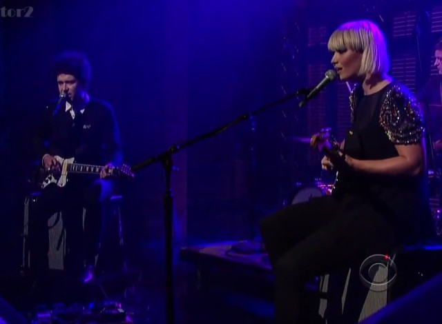 The Raveonettes on Letterman