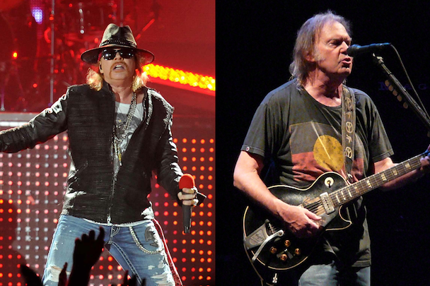 Watch Neil Young Sing With Guns N' Roses
