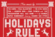 "Rufus Wainwright & Sharon Van Etten – ""Baby It's Cold Outside"""