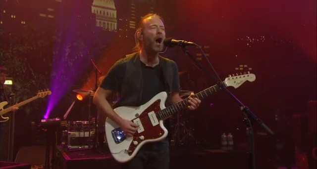 Watch Radiohead On 'Austin City Limits'