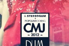 Stereogum CMJ 2012 Flyer