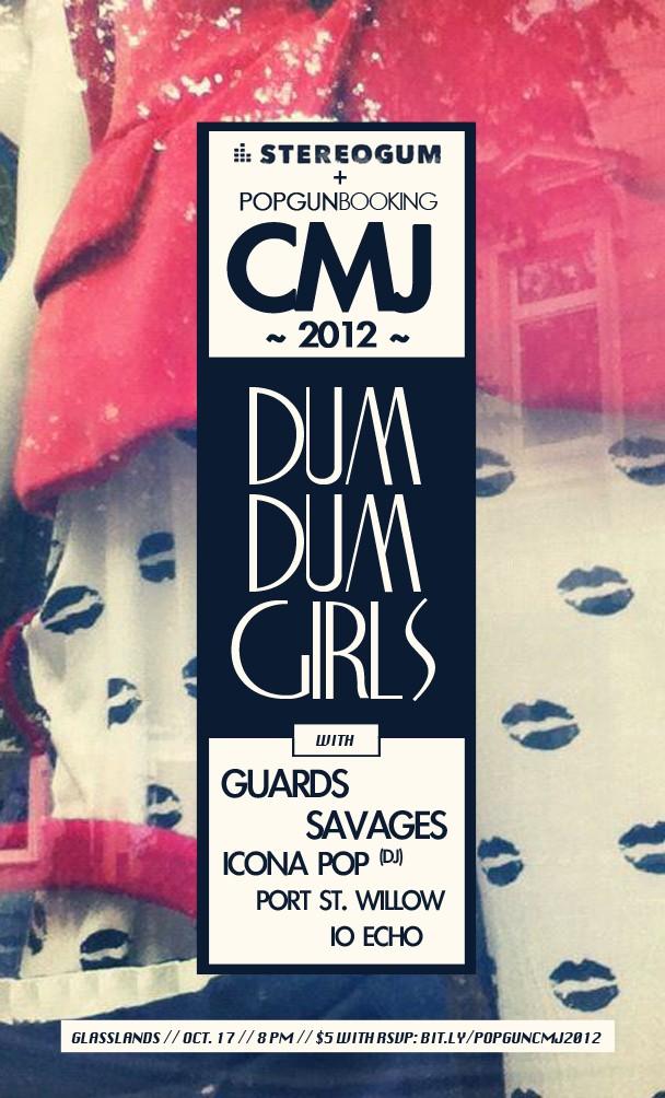 Stereogum Popgun CMJ 2012