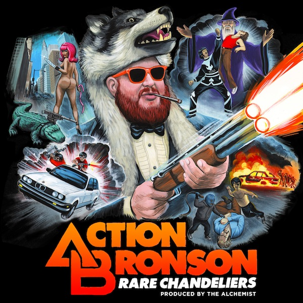 Mixtape Of The Week: Action Bronson <em>Rare Chandeliers</em>