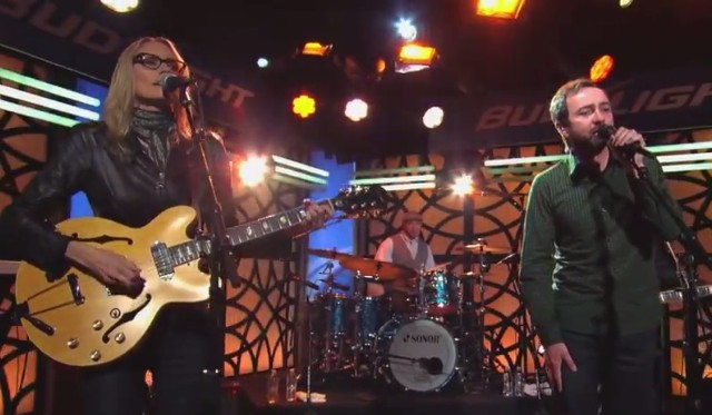 Aimee Mann & James Mercer on Kimmel
