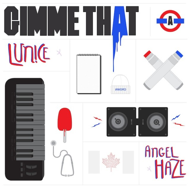 "Angel Haze & Lunice - ""Gimme That"""