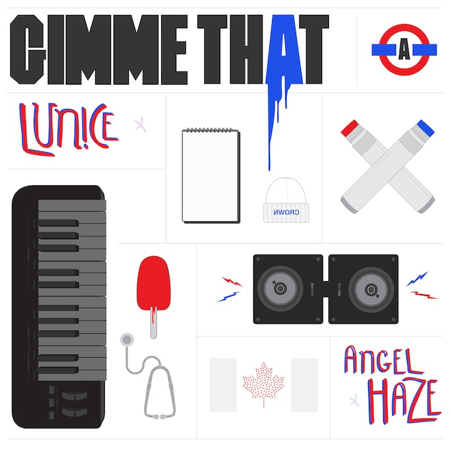 "Angel Haze & Lunice – ""Gimme That"""