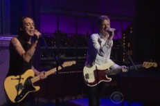 Divine Fits on Letterman