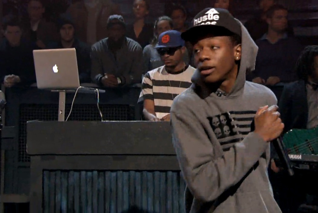 Watch Joey Bada$$ Perform With The Roots On <em>Fallon</em>