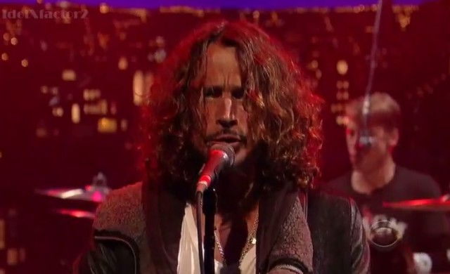 Soundgarden on Letterman