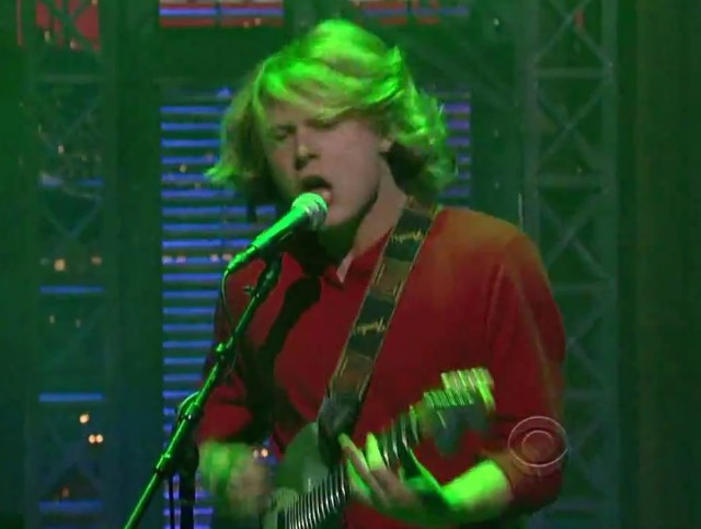 Ty Segall on Letterman