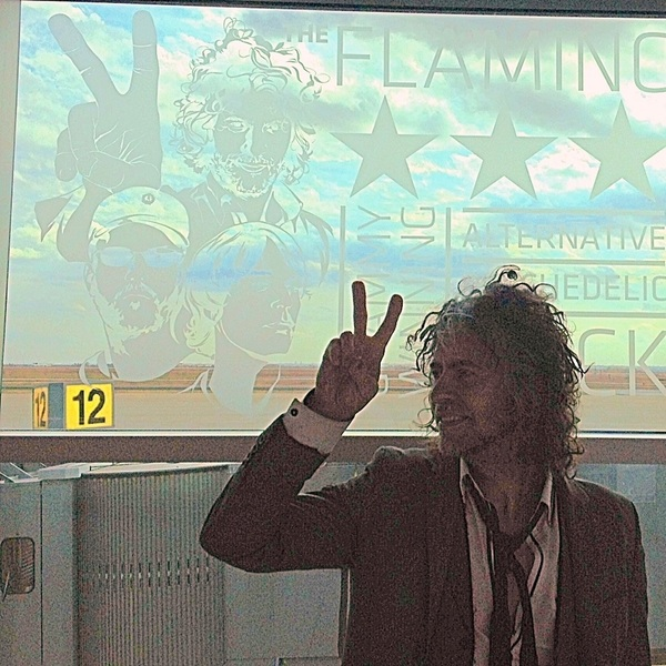 Wayne Coyne Apparently Brought A Grenade To The Airport