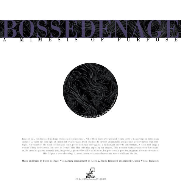 Bosse-de-Nage - A Mimesis Of Purpose