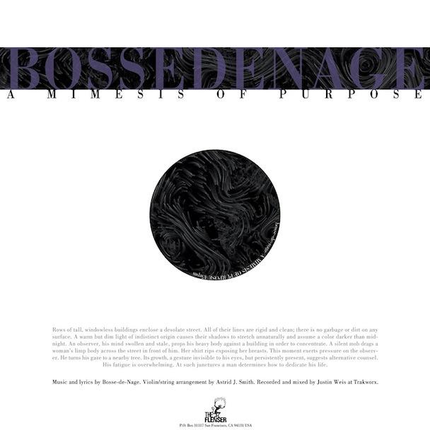 "Bosse-de-Nage – ""A Mimesis Of Purpose"" (Stereogum Premiere)"