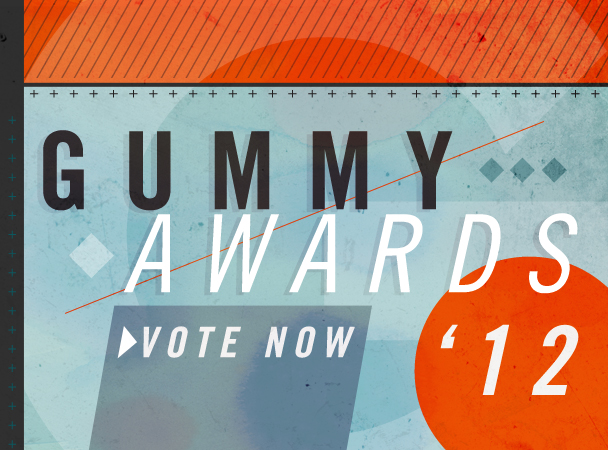 The 2012 Gummy Awards: Vote Now And Enter To Win An iPad With Retina Display
