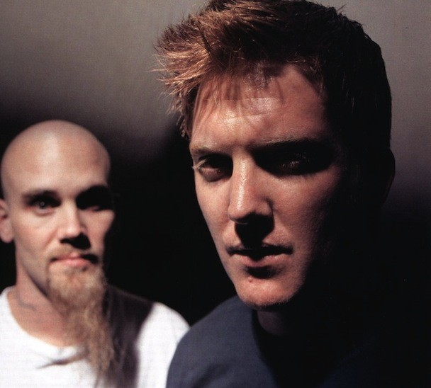 Nick Oliveri and Josh Homme
