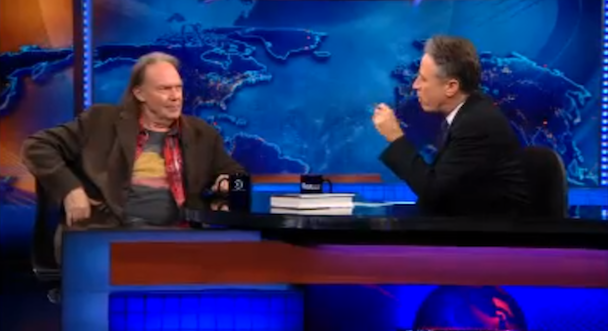 Neil Young on the Daily Show