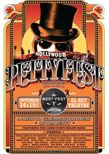 Petty Fest @ The El Rey, Los Angeles 2012