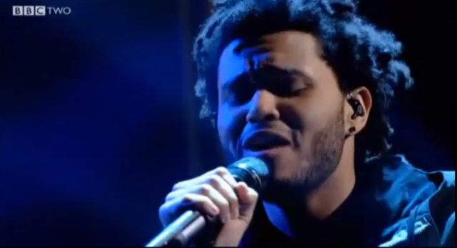 The Weeknd On Jools Holland