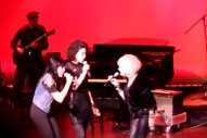 """Watch St. Vincent And Alexis Krauss Sing """"Girls Just Want to Have Fun"""" With Cyndi Lauper"""