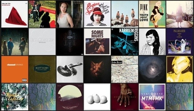 NPR albums list