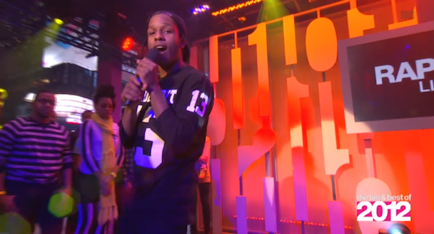 A$AP Rocky on MTV