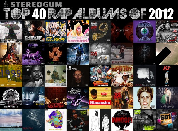 Stereogum's Top 40 Rap Albums Of 2012