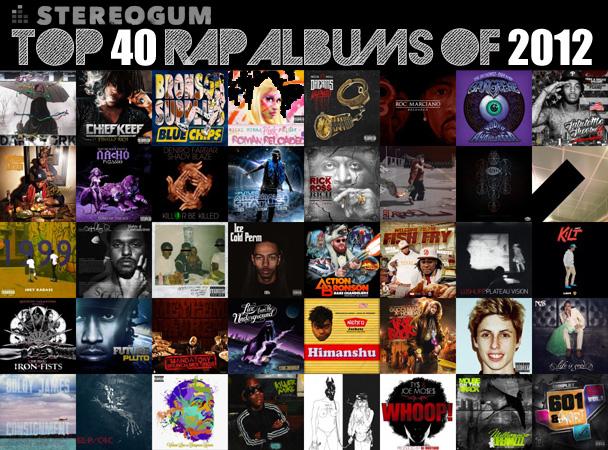 best rap hits of 2012