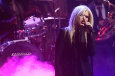 Watch Sky Ferreira Play With The Roots On <em>Fallon</em>