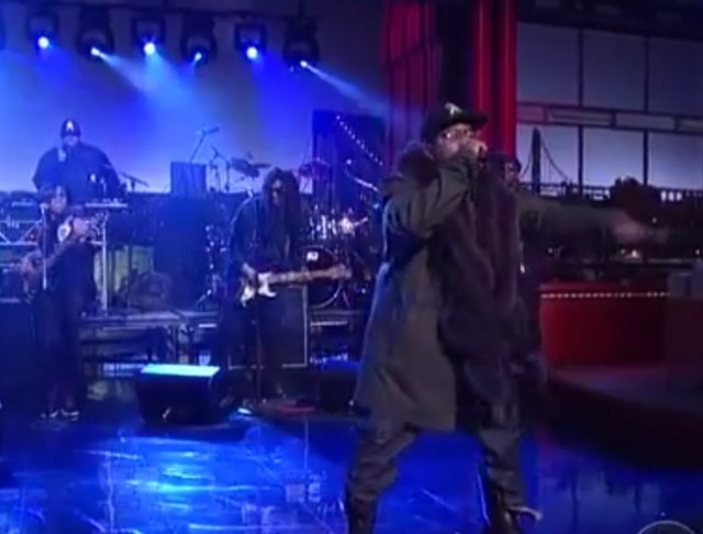 Big Boi on Letterman