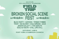 Broken Social Scene Headlining Arts & Crafts' 10-Year-Anniversary Field Trip Festival