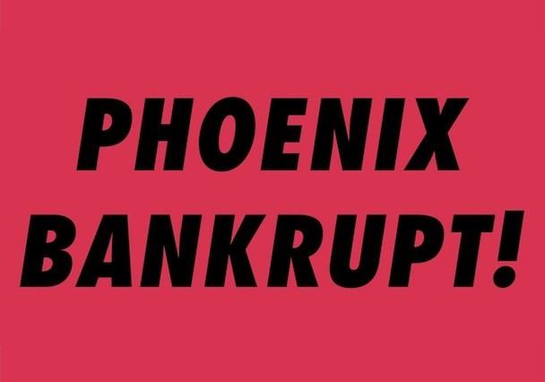 Phoenix Announce Bankrupt, Live Return