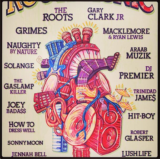 Roots Picnic 2013 Lineup
