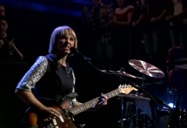 The Joy Formidable on Fallon