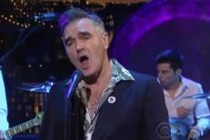 Watch Morrissey Play <em>Letterman</em>