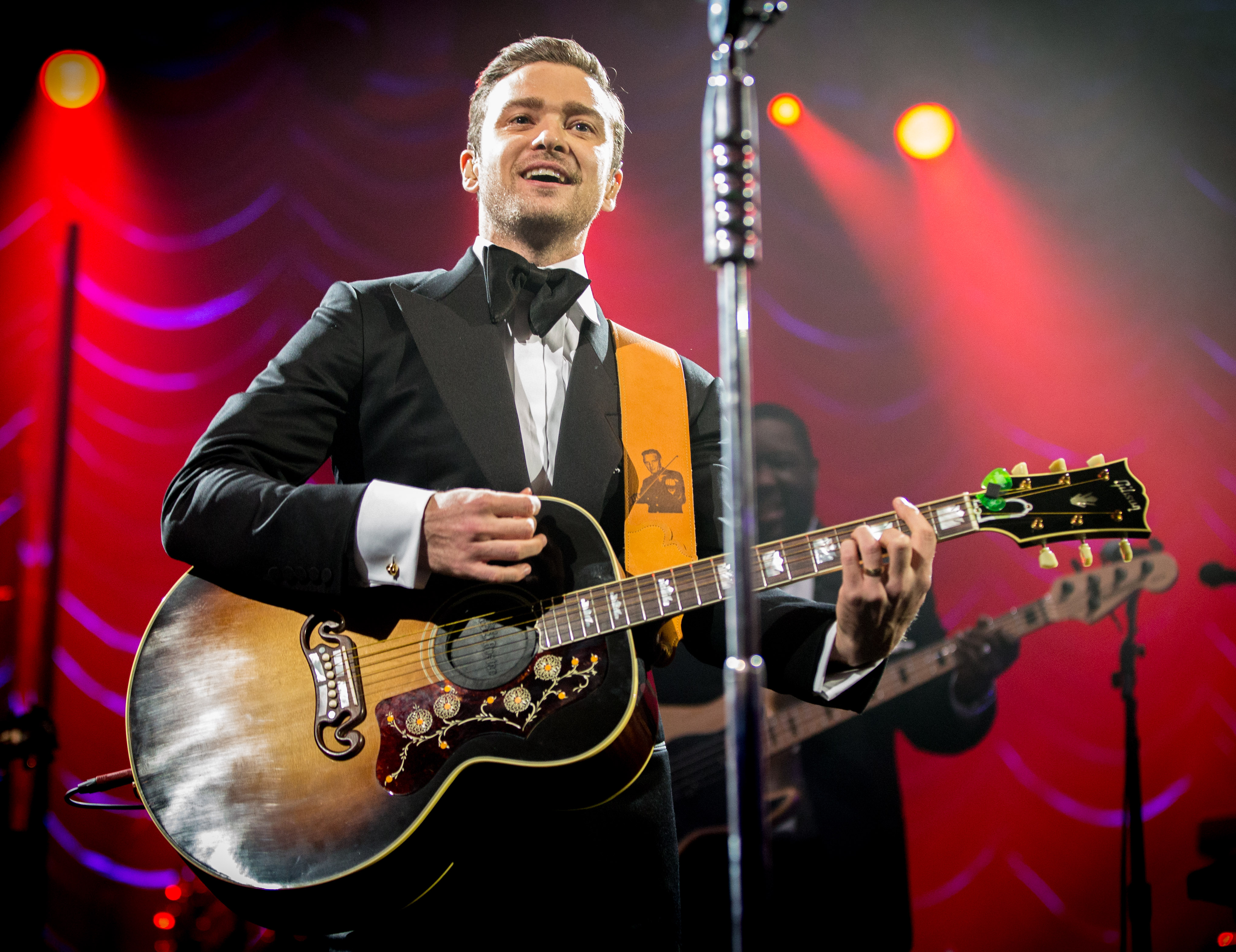 "Watch Justin Timberlake Debut ""Little Pusher Love Girl"" And ""That Girl"" In New Orleans"