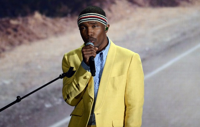 Frank Ocean Performs At The Grammys